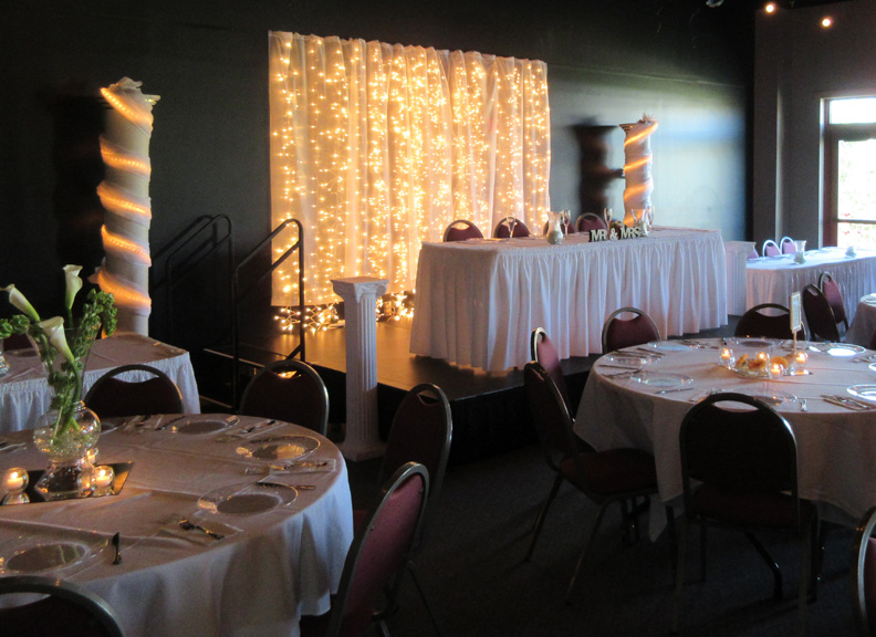 wedding facility rental